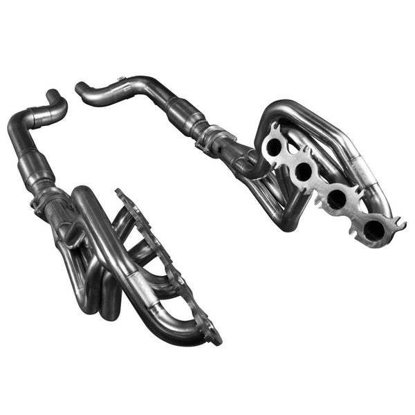 "Kooks 2015 + Mustang GT 5.0l 1 7/8"" X 3"" Stainless Steel Long Tube Header W/ Green Catted Connection Pipe 1151H431"
