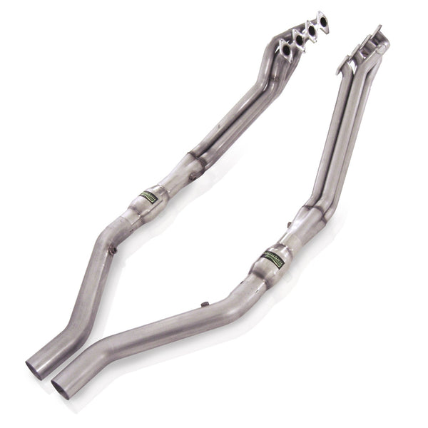 "Stainless Works Ford Mustang 2005-10 Headers: 1 5/8"" Catted Leads M05H"