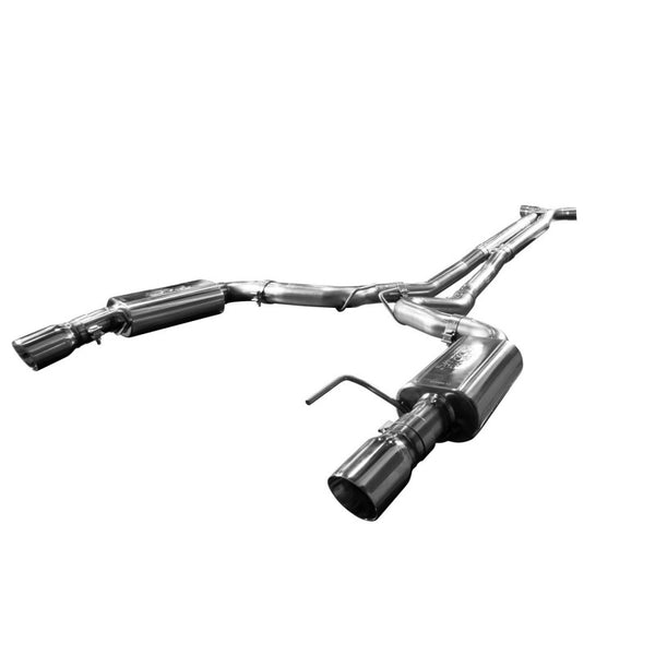 "Kooks 2015+ Ford Mustang GT 5.0l Full 3"" Exhaust System W/ X-pipe & Polished Tips 11515101"