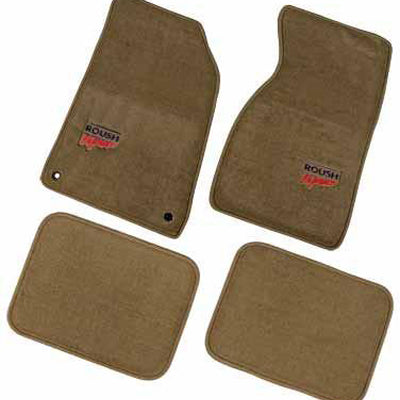 Roush Performance Mustang Floor Mats Tan (1994-2004) SM94-5100-T