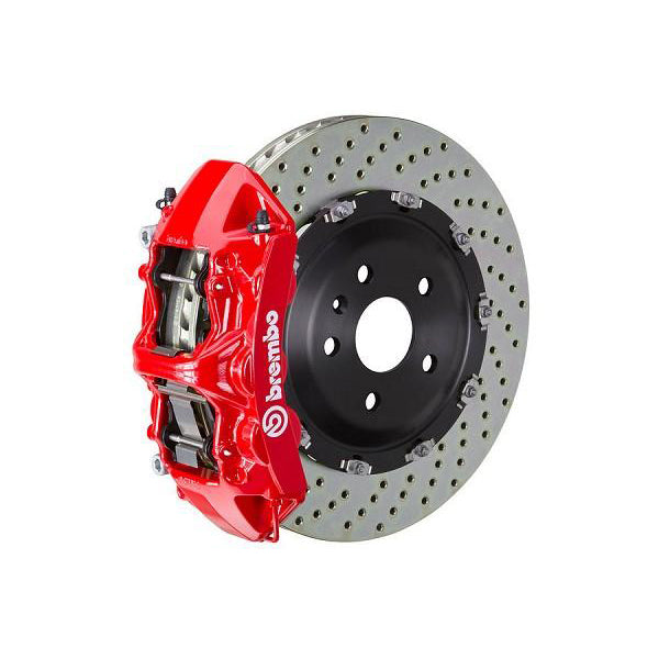 Brembo GT Drilled Mustang Front Brake Kit Red (15-17 GT) 1N1-9047A2