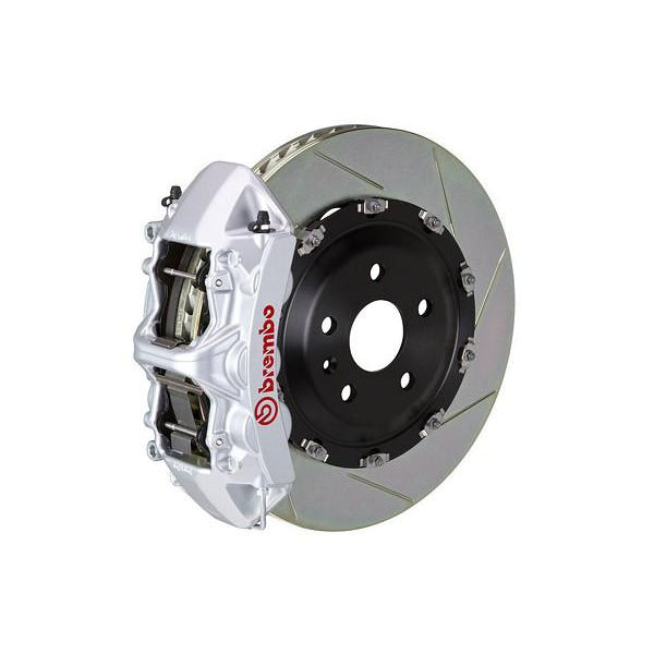 Brembo GT Slotted Mustang Front Brake Kit Silver (15-17 GT) 1N2-9047A3