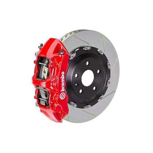 Brembo GT Slotted Mustang Front Brake Kit Red (15-17 GT) 1N2-9047A2
