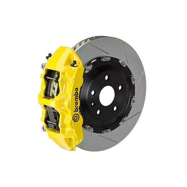 Brembo GT Slotted Mustang Front Brake Kit Yellow (15-17 GT) 1N2-9047A5