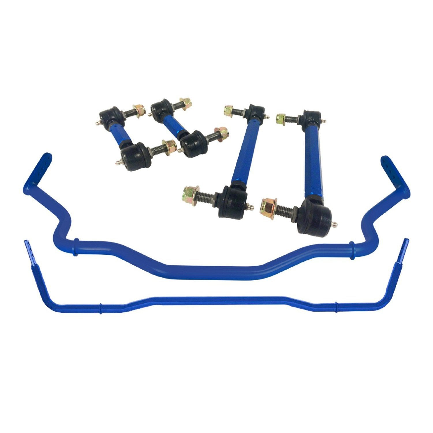 Steeda Mustang Adjustable Front and Rear Sway Bar With Endlinks (2015-2019) 555 1014