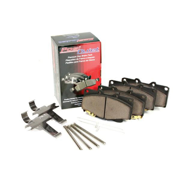 StopTech Mustang EcoBoost/V6 Non-PP Posi-Quiet Ceramic Front Brake Pads (15-17 EcoBoost/V6 w/out PP) 492 105 17910
