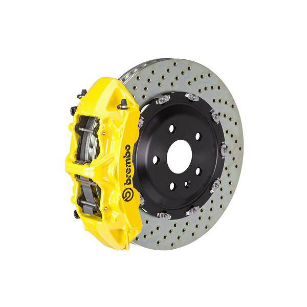 Brembo GT Drilled Mustang Front Brake Kit Yellow (15-17 GT) 1N1-9047A5