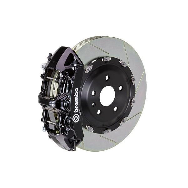 Brembo GT Slotted Mustang Front Brake Kit Black (15-17 GT) 1N2-9047A1