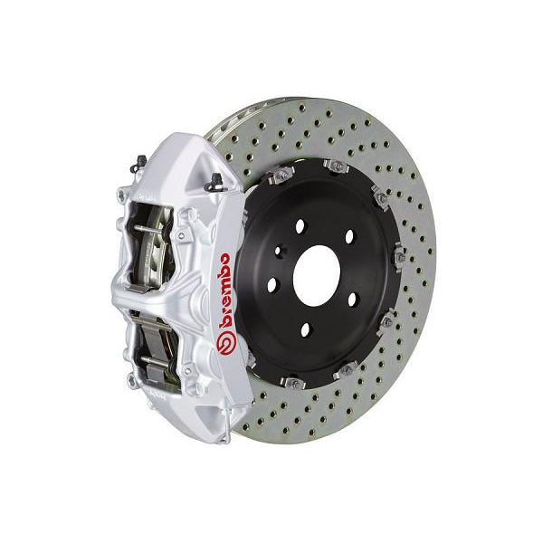 Brembo GT Drilled Mustang Front Brake Kit Silver (15-17 GT) 1N1-9047A3