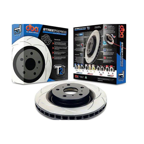 Dbausa Mustang Street Series T2 Slotted Rear Rotor (15-17 EcoBoost PP/GT) 602 DBA2165S