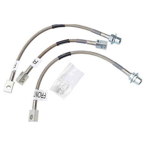 Russell Mustang Stainless Braided Brake Lines - 3 Line (94-95 Cobra) 125 693030