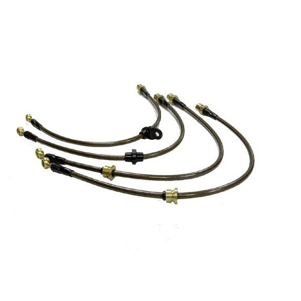 Agency Power Mustang Front Steel Braided Brake Lines (94-98 Cobra) 985 MC9498 405