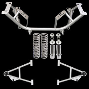 UPR 79-93 Mustang Tubular Chrome Moly K Member Kit Modular Engine 2005-79K-MOD-100