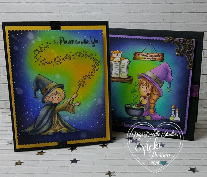 Charming Enchanters Pairables Ink Blending Tutorial
