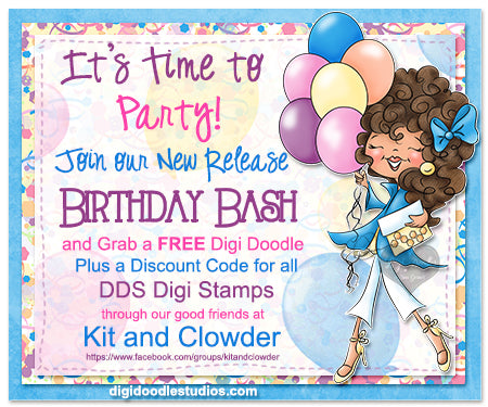 It's a Great Day to Celebrate – Digi Doodle Studios
