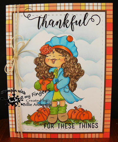 Digi Doodles Patti's Pumpkin Patch DDS Sept Winner