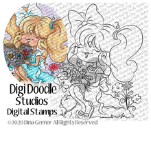 Acacia & Mugs Digi Doodles Digi Stamp Instant Download Digital Stamp
