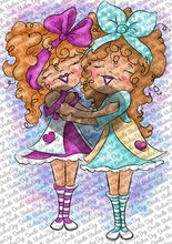Anaya & Shanaya Digi Stamp Instant Download Digital Stamp