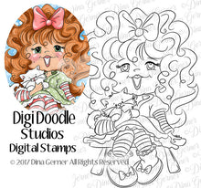 Anna Lee Digi Doodles Digi Stamp Instant Download Digital Stamp