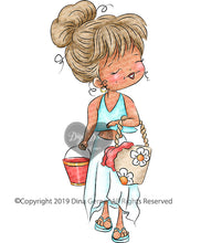 Ava Shell Collector Digi Stamp