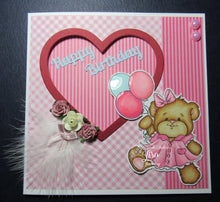 Beatrice Teddy Bear Digi Doodles Digi Stamp