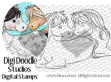 Bolt and Juliet Digi Doodles Stamps