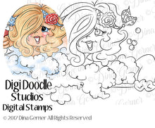 Bubbles Digi Doodles Digi Stamp Instant Download Digital Stamp