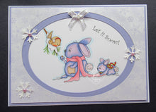 Bunny Blessings Digi Doodles Digi Stamp