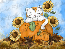 Callie's Pumpkin Patch Digi Doodles Digi Stamp