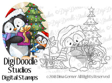 Christmas Chilly Willies Digi Doodles Digi Stamps