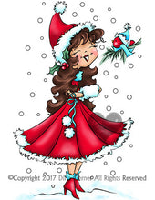 Christmas Grace Digi Stamp Instant Download Digital Stamp