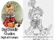 Cindi Guess Who Digi Doodles  Digi Stamp