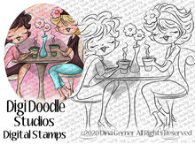 Coffee Confidential Digi Doodles Digi Stamp