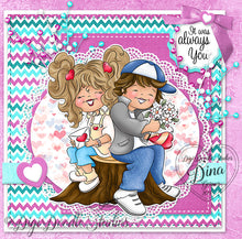 Digi Doodles Secret Crush Digi Stamp