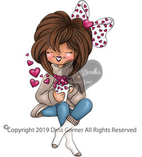 Digi Doodles Cup of Love Digi Stamp