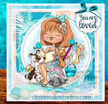 For The Love of Dawn Digi Stamp Instant Download Digital Stamp