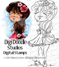 Ella & ChiChi Digi Doodles Instant Download Digital Stamp Digi Stamp