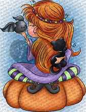 Enchanting Charolette Digi Doodles Digi Stamp