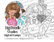 Digi Doodles Faithful Friends Digi Stamp