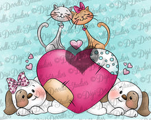 Digi Doodles Furry Friends Digi Stamp