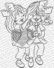 The Guess Who Girls Digi Doodles Digi Stamp