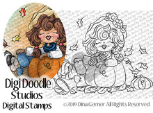 Hello Fall Digi Doodles Digi Stamp
