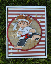 Bobby Martial Arts Boy Digi Stamp