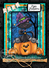 Jazzy Jette & Crew Digi Stamp Instant Download Digital Stamp