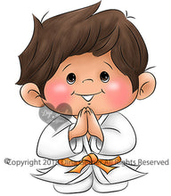 Joshy Martial Arts Boy Digi Stamp