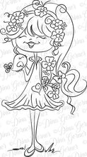 Leilani Digi Doodles Digital Stamp Instant Download Digi Stamp