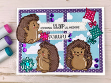 Looking Sharp Lil Hedgies Pairables Digi Doodles Digi Stamp Set