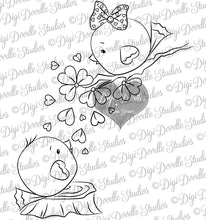 Digi Doodles Little Love Birds Digi Stamp