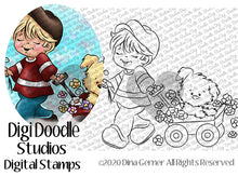 Lonnie's In Love Digi Doodles Digi Stamp