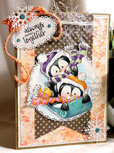 Penguins Lottie & Tillie Digi Doodles Digi Stamp